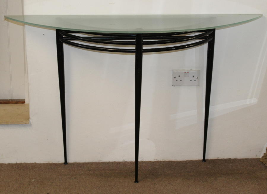 Vintage Pascal Morgue (1943-2014) lunar console table