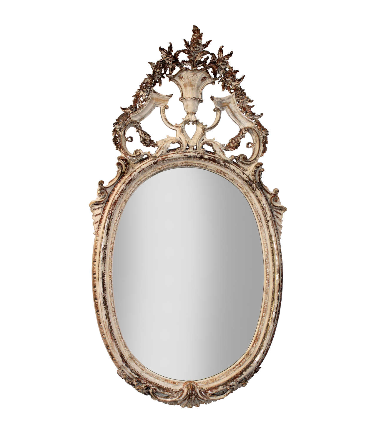 Spectacular large antique Spanish mirror