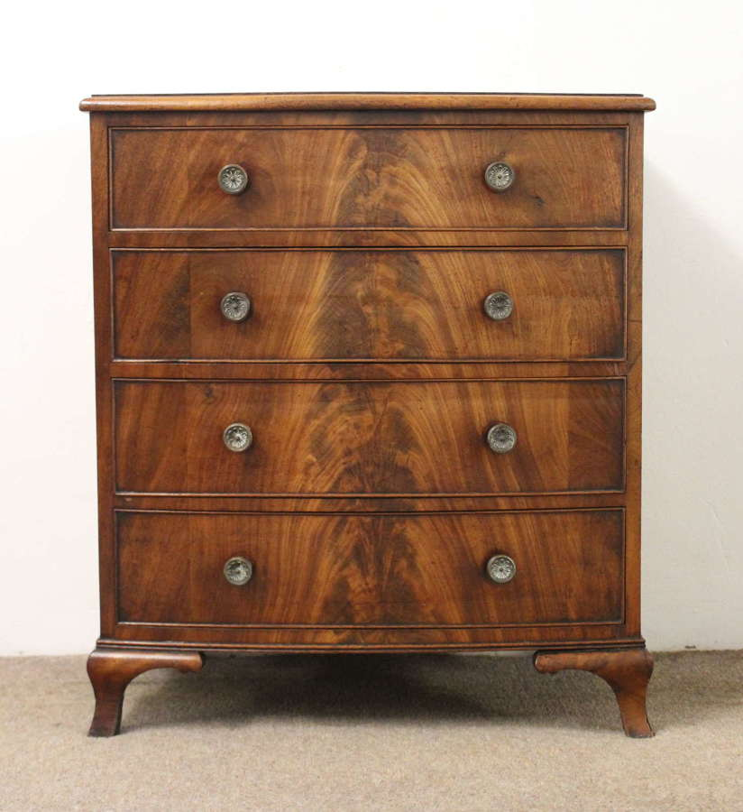 Small antique chest of four drawers